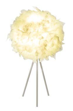 Stona lampa metal nikl mat, 1XE27