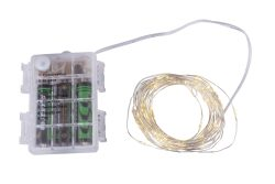 LED svetlosni lanac boja bakra, 50XLED