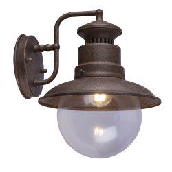 Spoljna lampa ?elik boje r?e, 1XE27