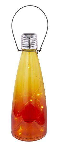 SOLARNA LAMPA, STAKLO, 10XLED