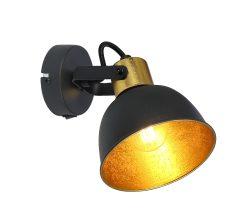 SPOT LAMPA METAL CRNA, 1XE14